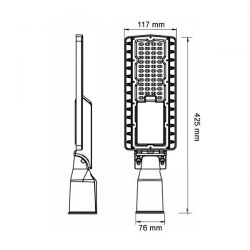 LED Street Light 135lm / W...