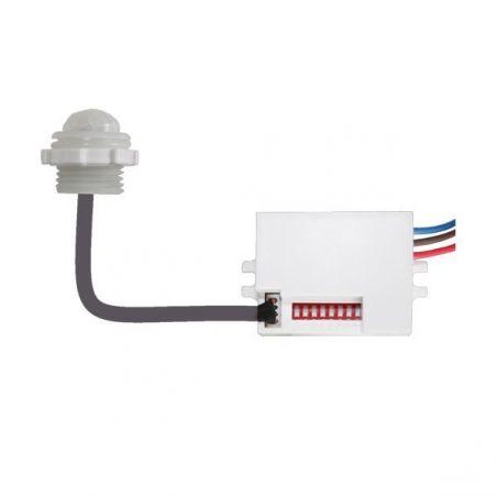 Sensore LED PIR IP65 bianco