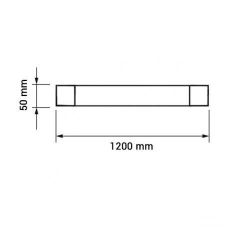 LED Batten montaggio IP65