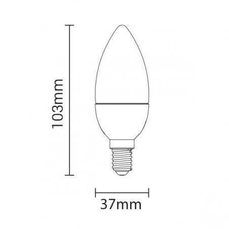 Lampadina a LED E14...
