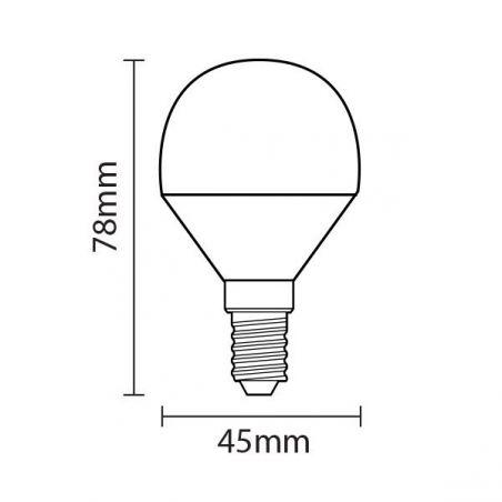 Lampadina a LED in plastica...