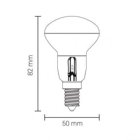 Lampadina a LED R50 E14