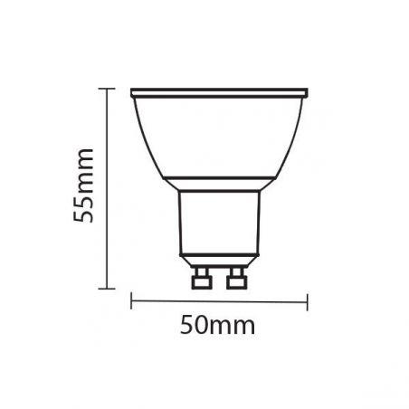 Lampadina a LED GU10 50 °...