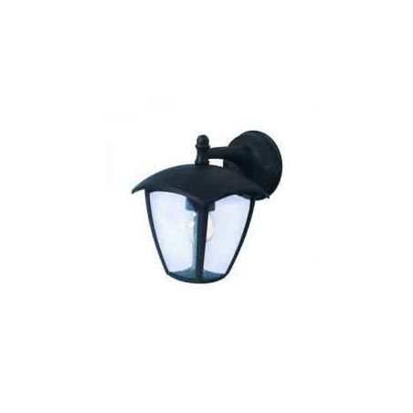 LED da parete nero opaco 1xE27